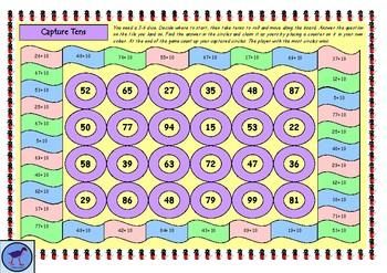 Capture Tens - A Place Value Maths Game