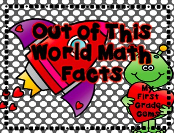"Valentine ""Out of this World"" Math Games"