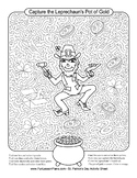 Capture The Leprechaun Activity Sheet