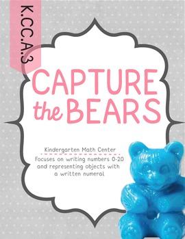 Capture the Bears Math Game (K.CC.A.3)