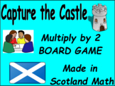 Capture the Castle - Multiplication by 2 Game