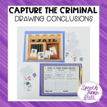Capture the Criminal Drawing Conclusions QR Code Fun