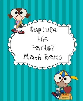 Capture the Factor Math Game