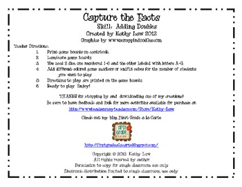Capture the Facts - Adding Doubles