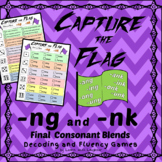 Capture The Flag - Final Blends (-nk and -ng) Decoding and Fluency Games