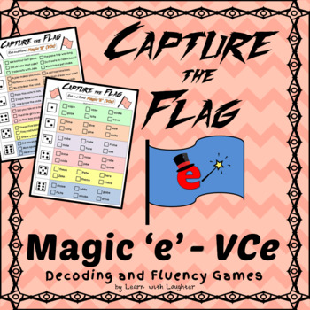 Capture the Flag - Magic 'e' (VCe) Decoding and Fluency Games