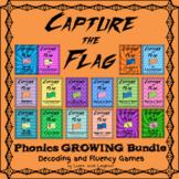 Capture the Flag - Phonics Skills Decoding and Fluency Gam