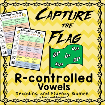 Capture the Flag -(ar,er,ir,or,ur) R-controlled Vowels Decoding and Fluency Game