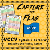 Capture the Flag - VCCV Syllable Pattern Decoding and Fluency Games