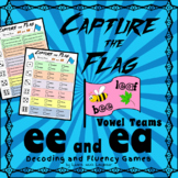 Capture the Flag - 'ee' and 'ea' Vowel Teams  Decoding and