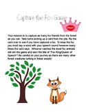 Capture the Fox Articulation Card Game