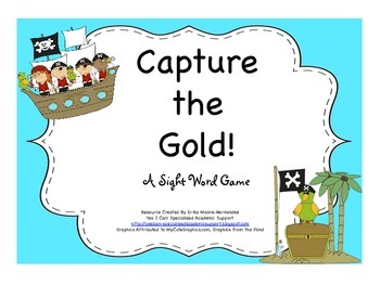 Capture the Gold! A Sight Word Game