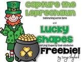 Capture the Leprechaun - Subtracting across zeros freebie