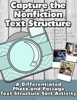 Capture the Nonfiction Text Feature: A Differentiated Sorting Activity