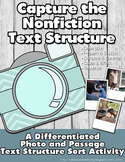 Capture the Nonfiction Text Feature: A Differentiated Sort