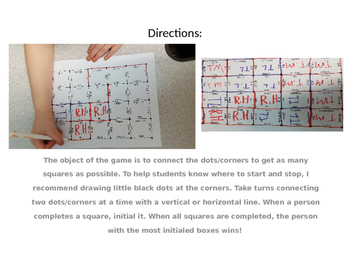 Capture the Square/Dot Game: No Prep Phonemic Awareness Practice; Decoding; RtI