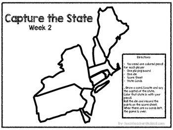 Capture the States U.S. Geography Game