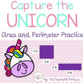 Capture the Unicorn: An Area and Perimeter Activity