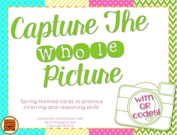 Capture the Whole Picture {Spring Inferences}