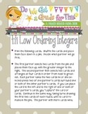Hi Low Ordering Integers Math Game