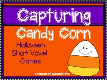 Capturing Candy Corn-Short Vowel Games