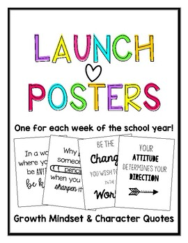 Capturing Kids Hearts Launch Posters
