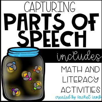 Capturing Parts of Speech craftivity with any text!