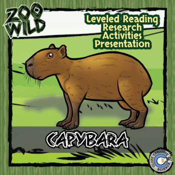 Capybara -- 10 Resources -- Coloring Pages, Reading & Activities