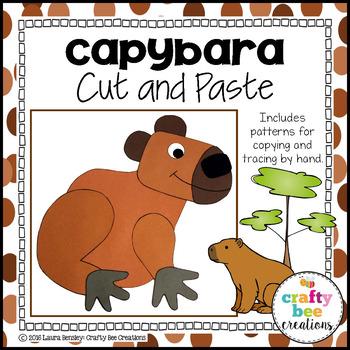 Capybara Cut and Paste