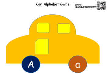 Car Alphabet Game
