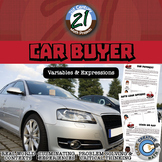 Car Buyer -- Evaluating Expressions - 21st Century Math Project