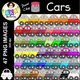 Car Clip Art ● Paint Chip Cars ● Clip Art