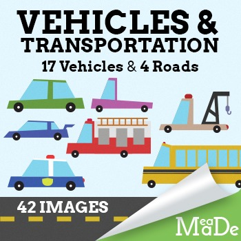 Car Clipart - Vehicles & Transportation