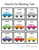 Car Color Matching Folder Game for Early Childhood Special
