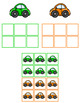 Car Color Sorting Folder Game for Early Childhood Special