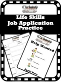 Car Dealership- Life Skills Job Application Practice