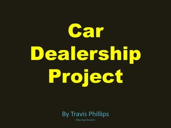 Car Dealership Project