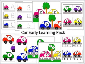 Car Early Learning Pack