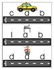 Car/Hot Wheels Short A CVC Blending Cards