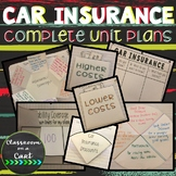 Car Insurance Complete Unit Plans