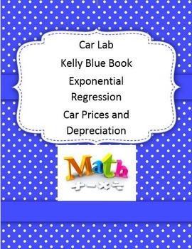 Car Lab Kelly Blue Book Exponential Math 1 2 3
