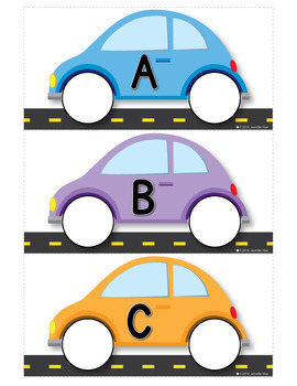 car letter matching transportation abc for preschool and ece tpt. Black Bedroom Furniture Sets. Home Design Ideas