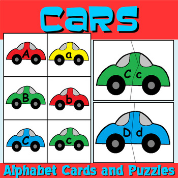 Car Letter Recognition Centers and Puzzles