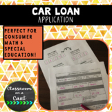 Car Loan Application Simulation