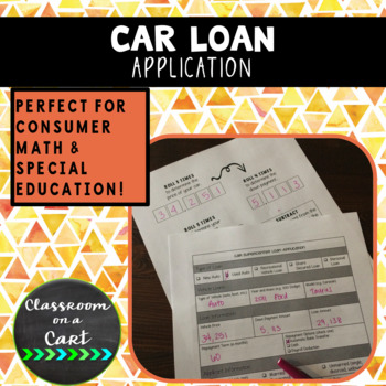 Car Loan Application Simulation