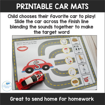 Car Mats Super Bundle for Apraxia, Articulation and Phonology