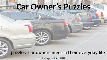 Car Owner Math Puzzles