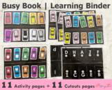 Car Parking Busy Book | Learning Folder | SKU0002
