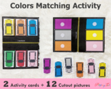 Car Parking Color Matching Activity | Toddler Busy Bag | T