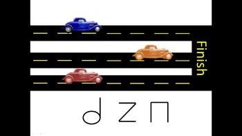 Car Race Halfnote Edition
